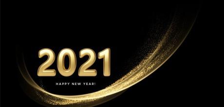С Новым годом, друзья! Здоровья, благополучия, успехов и удачи в 2021-м!